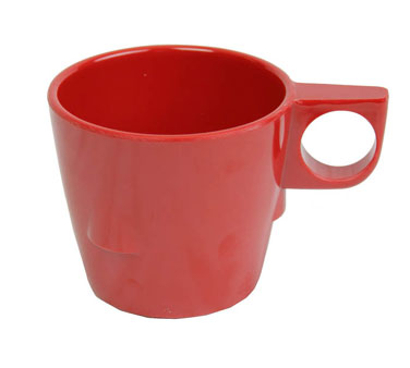 Thunder Group ML9011PR Pure Red Stacking Cup 7 oz. - 1 doz