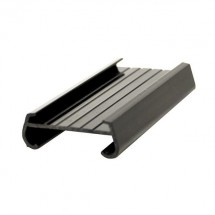Thunder Group PLSL003BK Black Plastic Shelf Label 3""