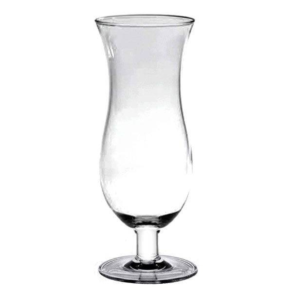 Thunder Group PLTHHC016C Polycarbonate Hurricane Glass 16 oz. - 1 doz