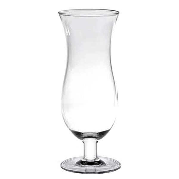 Thunder Group PLTHHC024C Polycarbonate Hurricane Glass 24 oz. - 1 doz