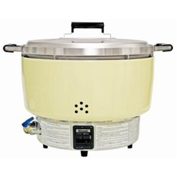 Thunder Group RER55ASL Rinnai Propane Powered Rice Cooker 55 Cup