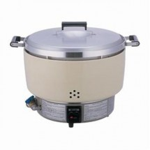 Thunder Group RER55ASN Rinnai Gas Powered Rice Cooker 55 Cup