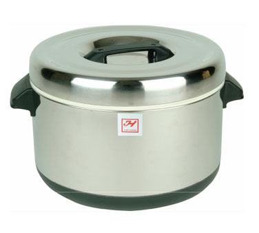 Thunder Group SEJ74000 Stainless Steel Insulated Sushi Pot 60 Cup