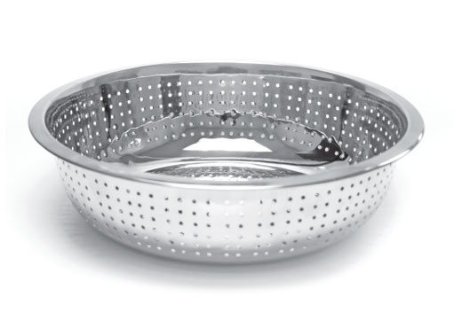 Thunder Group SLCIL13S Stainless Steel Chinese Colander