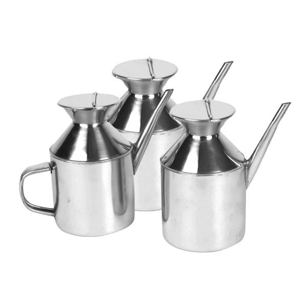 Thunder Group SLSD003S 18/8 Stainless Steel Square Sauce Dispenser