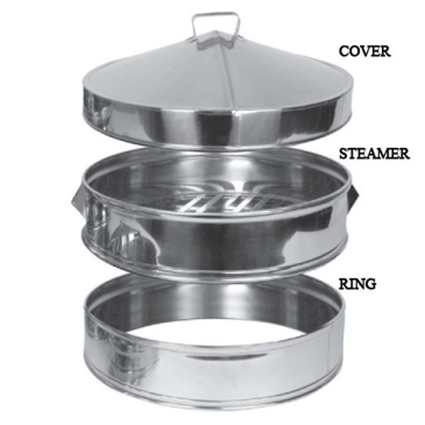 Thunder Group SLSTM018 Stainless Steel Steamer 18""