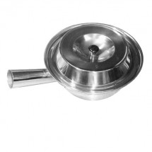 Thunder Group SLSTP714 Stainless Steel Sauce Pan 7-1/4""
