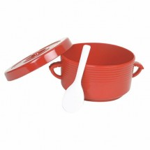 Thunder-Group-T-333-Plastic-Rice-Container-With-Handles-and-Spoon-72-oz