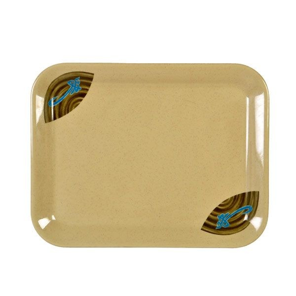 "Thunder Group 0901J Wei Tray 13-1/8"" x 10-1/4"""