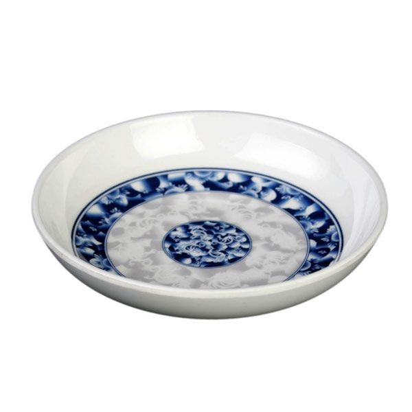 Thunder Group 1003DL Blue Dragon Melamine Sauce Dish 3 oz.