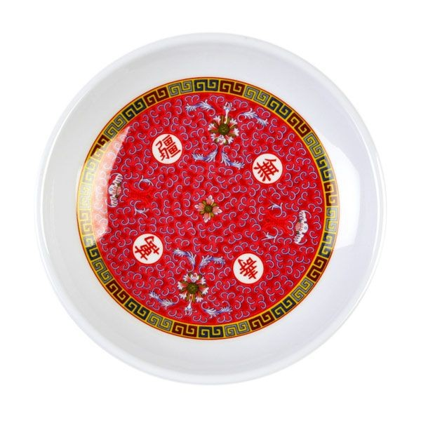 Thunder Group 1004TR Round Longevity Plate 4 oz. - 1 doz