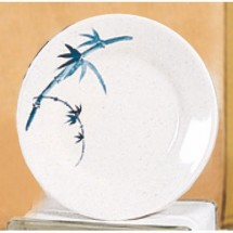 Thunder Group 1006BB Blue Bamboo Melamine Plate 6""
