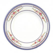 Thunder Group 1008AR Rose Melamine Round Plate 7-7/8