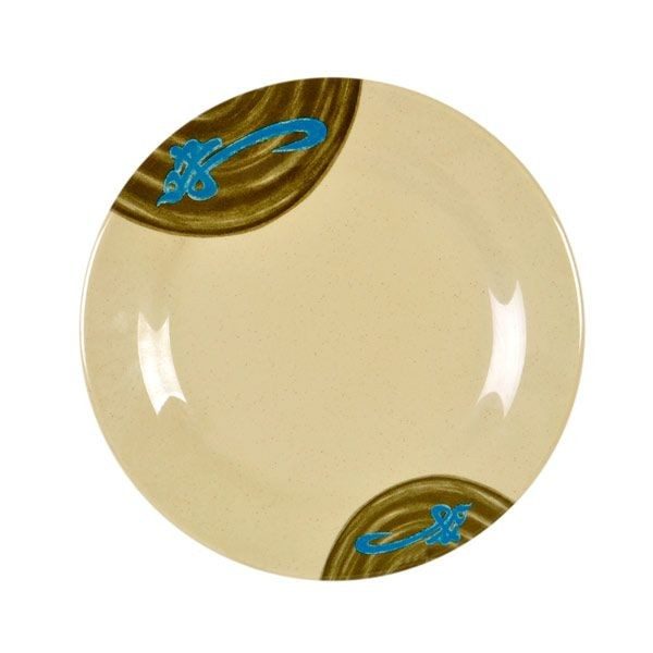 Thunder Group 1008J Wei Asian Melamine Plate 7-7/8""