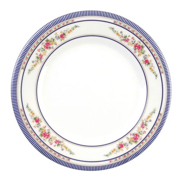 Thunder Group 1010AR Rose Melamine Round Plate 10-3/8