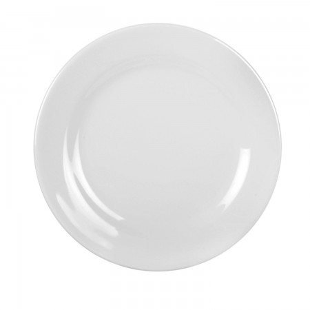 Thunder Group 1010TW Imperial White Melamine Plate 10-3/8""