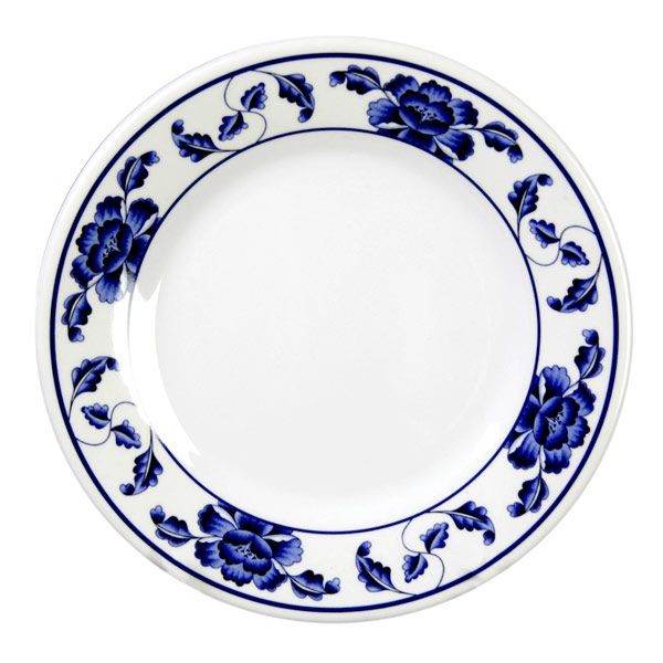 Thunder Group 1012TB Lotus Melamine Plate 11-3/4""