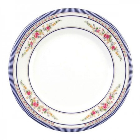 Thunder Group 1013AR Rose Melamine Plate 12-5/8""