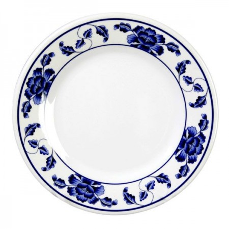 Thunder Group 1013TB Lotus Melamine Plate 12-5/8""