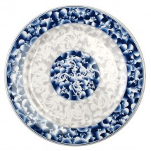Thunder Group 1016DL Blue Dragon Melamine Plate 15-1/2""