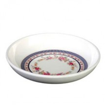 Thunder Group 102.8AR Rose Melamine Sauce Dish 3-1/2