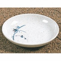 Thunder Group 102.8BB Blue Bamboo Sauce Dish 3-1/2""