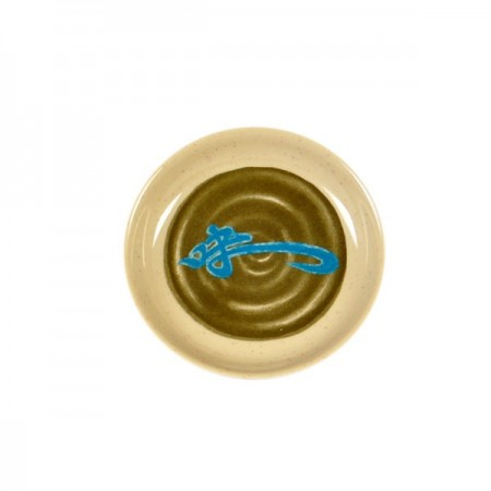 Thunder Group 102.8J Wei Asian Melamine Sauce Dish 2 oz.