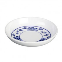 Thunder Group 102.8TB Lotus Sauce Dish 3-1/2""