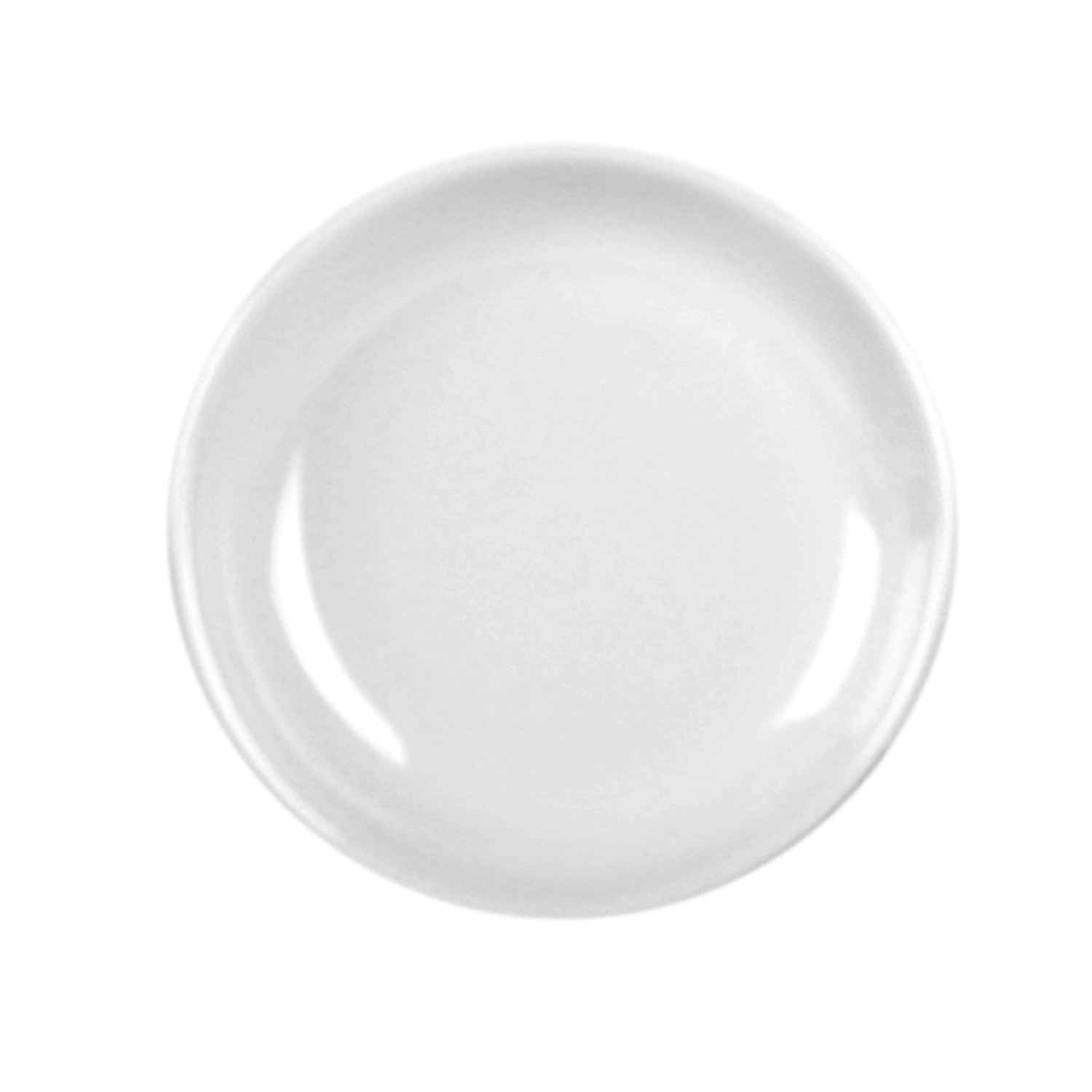 Thunder Group 102.8TW Imperial White Melamine Sauce Dish 2 oz.