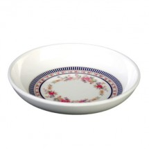 Thunder Group 1101AR Rose Melamine Sauce Dish 2-3/4