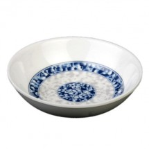 Thunder Group 1101DL Blue Dragon Melamine Sauce Dish 2-3/4