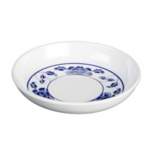 Thunder Group 1101TB Lotus Melamine Sauce Dish 1 oz.