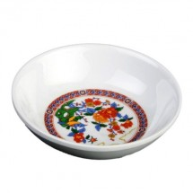 Thunder Group 1101TP Peacock Melamine Sauce Dish 1 oz. - 5 doz.