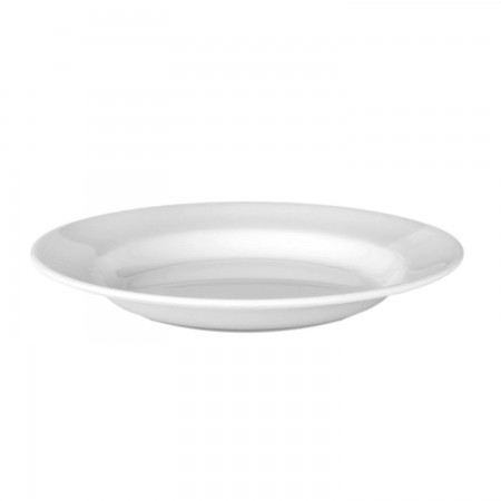 Thunder Group 1107TW Imperial White Melamine Soup Plate 5 oz.