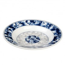 Thunder Group 1109DL Blue Dragon Melamine Soup Plate 10 oz.