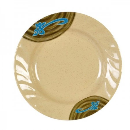 """Thunder Group 1207J Wei Curved Rim Plate 7"""""""