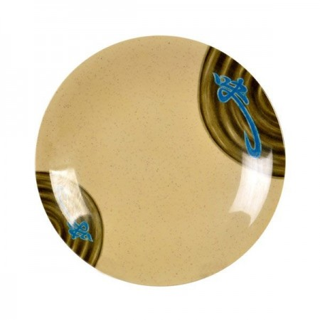 Thunder Group 1307J Wei Asian Melamine Plate 7-3/8""