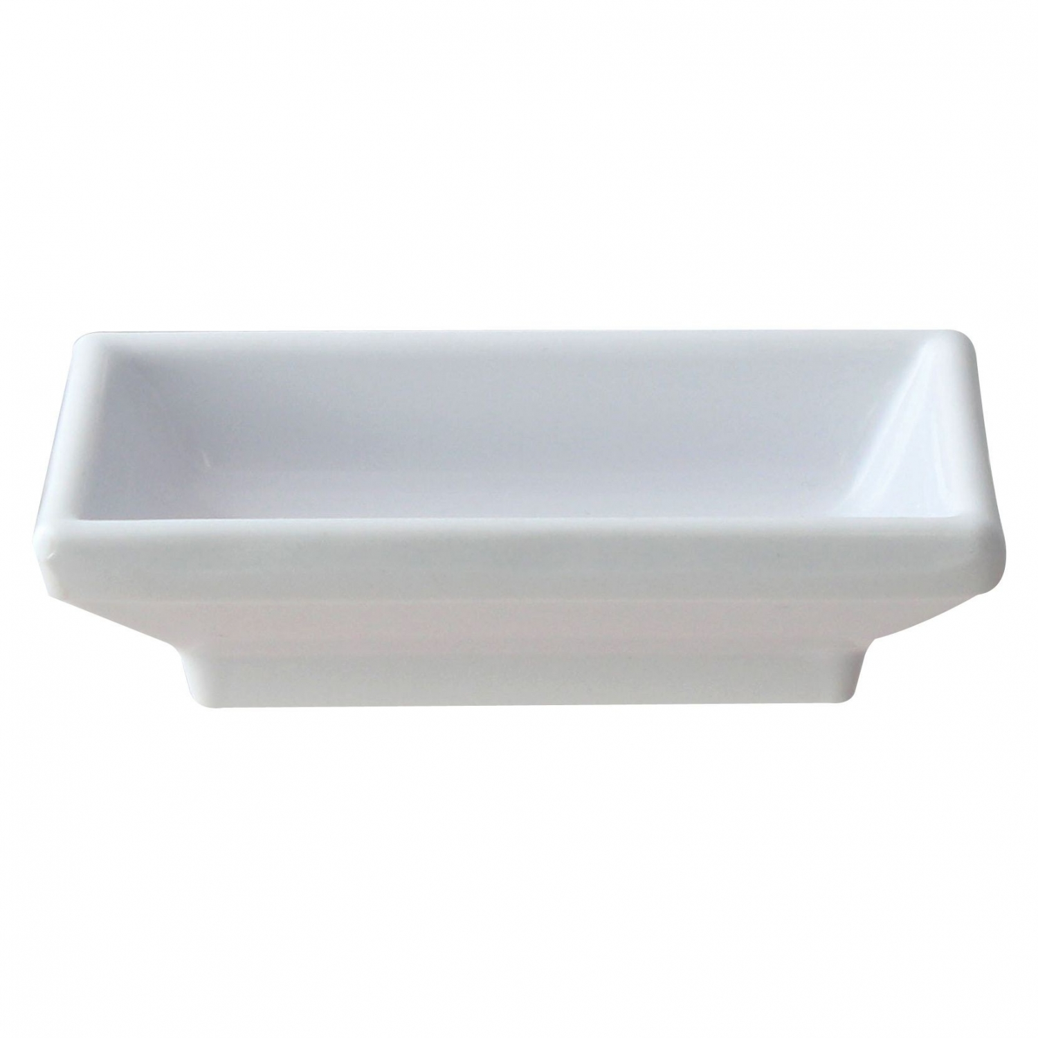 Thunder Group 19001WT Classic White Series Sauce Dish 2 oz. - 1 doz