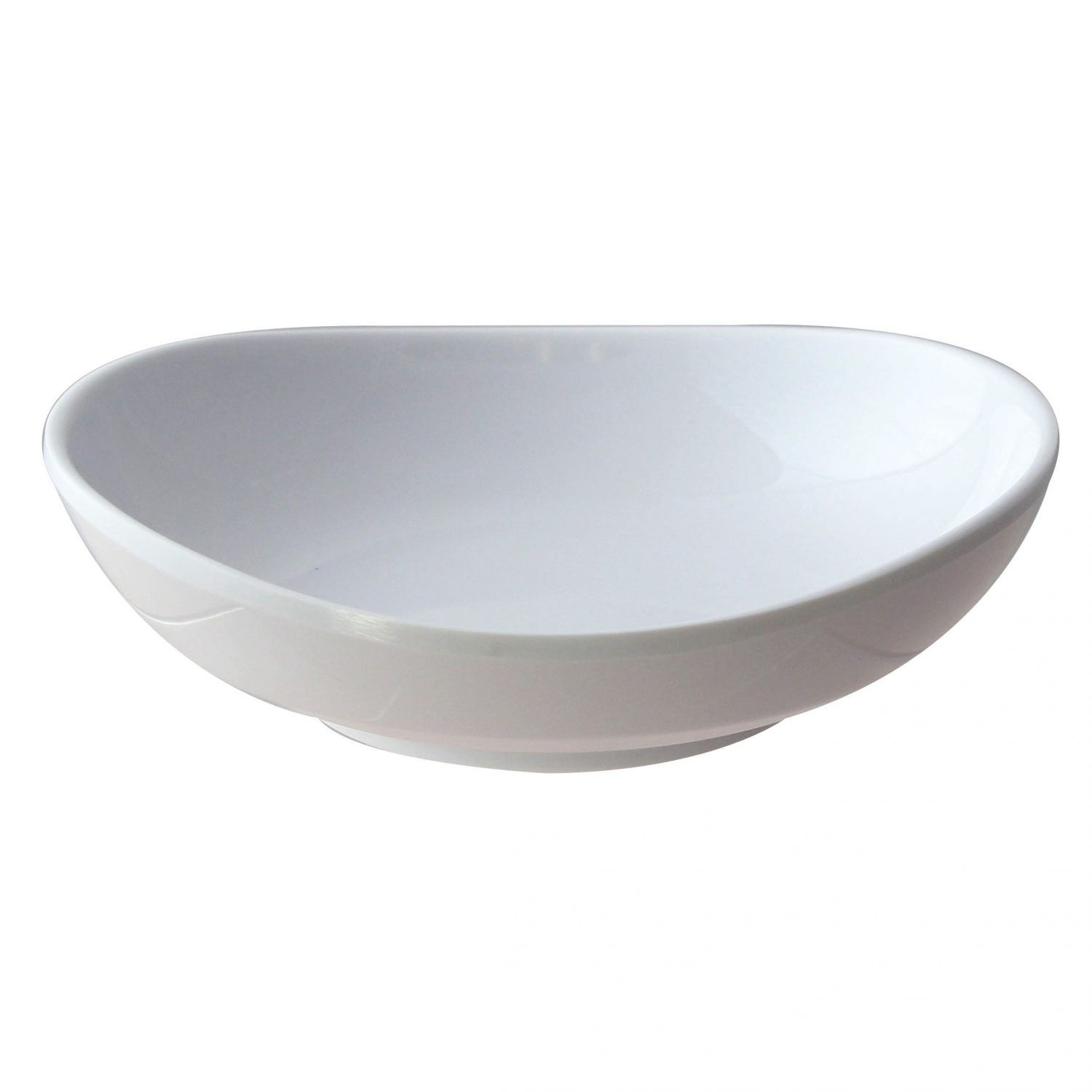 Thunder Group 19055WT Classic White Series Round Saucer 8 oz. - 1 doz