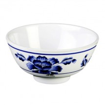 Thunder Group 3004TB Lotus Melamine Rice Bowl 12 oz.
