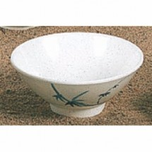 Thunder Group 3005BB Blue Bamboo Melamine Rice Bowl 9 oz.