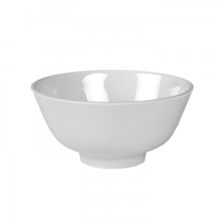 Thunder Group 3006TW Imperial White Melamine Rice Bowl 9 oz.
