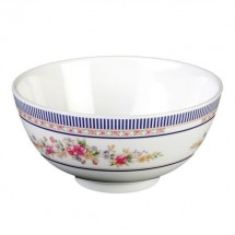 Thunder Group 3008AR Rose Melamine Rice Bowl 6 oz