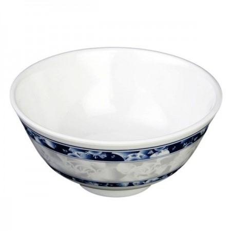 Thunder Group 3008DL Blue Dragon Melamine Rice Bowl 6 oz.
