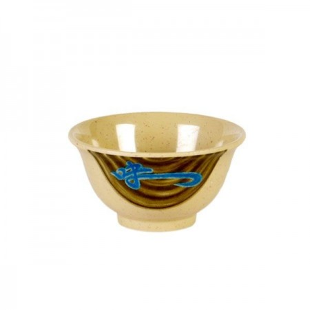 Thunder Group 3008J Wei Asian Melamine Rice Bowl 6 oz.