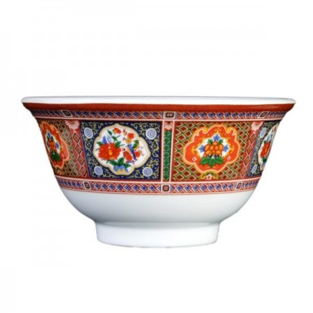 Thunder Group 3008TP Peacock Melamine Rice Bowl 6 oz