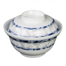 Thunder Group 3201DL Blue Dragon Melamine Noodle Bowl 20 oz.