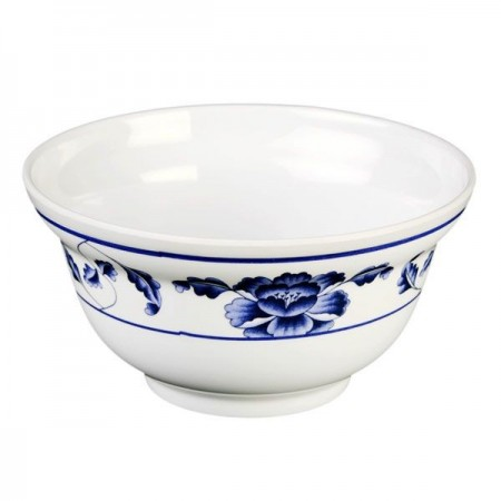 Thunder Group 3201TB Lotus Melamine Noodle Bowl 20 oz.