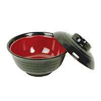 Thunder Group 3222JBR Melamine Miso Donburi Bowl 4-3/4