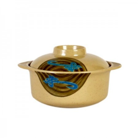 Thunder Group 3503J Wei Asian Miso Bowl With Lid 12 oz.